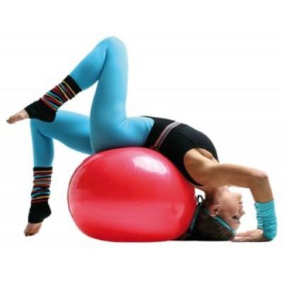 Мяч для фитнеса PS гладкий,55 см