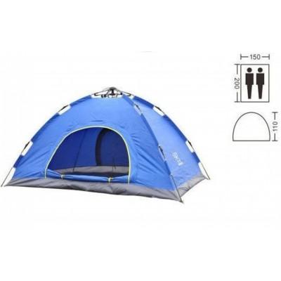 Палатка-автомат 2-х местная Zel SY-A02-BL
