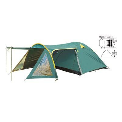 Палатка кемпинговая 4-х местная Zel FRT-207-4