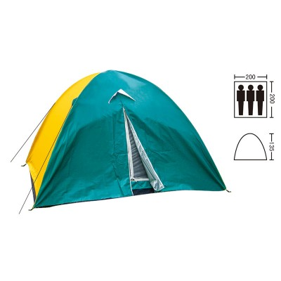 Палатка универсальная 3-х местная Zel SY-029
