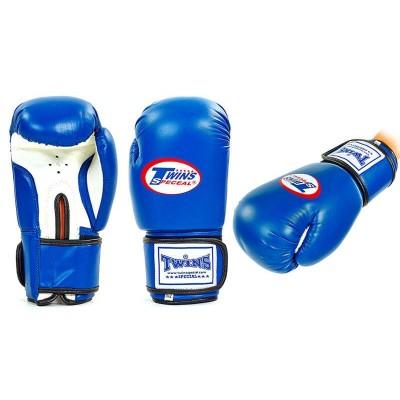 Перчатки боксерские на липучке TWINS MA-5316, 10-12 OZ
