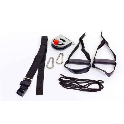 TRX Петли подвесные тренировочные с подвижным блоком SUSPENSION SYSTEM AF5004