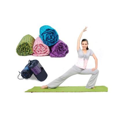 Коврик – полотенце для йоги Zelart Yoga mat towel