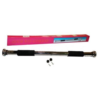 Раздвижной металлический турник в дверной проем, Zelart Fl-4405 62-100 см