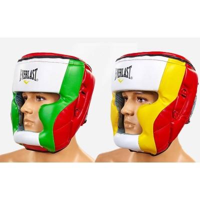 Шлем боксерский (с полной защитой) PU ELAST МА-010