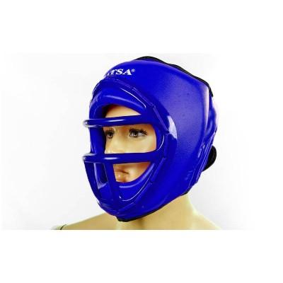 Шлем для единоборств (с маской) PVC MATSA ME-0133