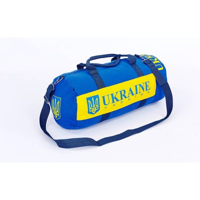 Сумка спортивная (дорожная) для зала UKRAINE с национальной символикой (GA-5633-5)