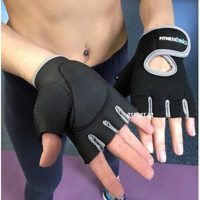 Перчатки спортивные (атлетические, тренировочные) для зала и фитнеса BASICS BC-893