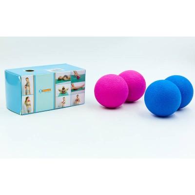 Массажер для спины Zelart Massage Ball (FI-6909)