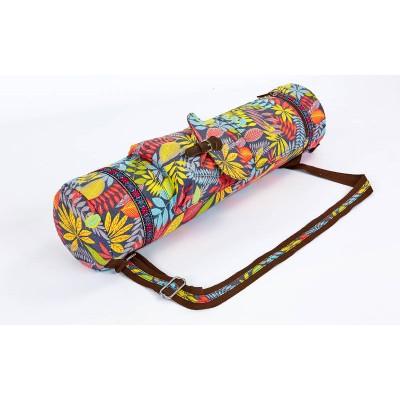 Сумка-чехол для коврика для занятий йогой, фитнесом нейлон 70х16см OSPORT (FI-6972-4)