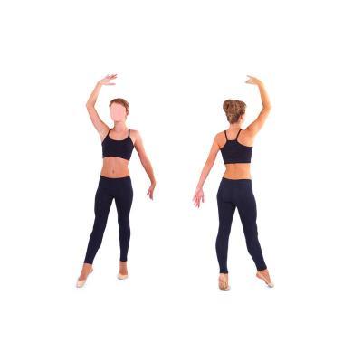 Лосины для фитнеса, йоги и гимнастики хлопок Zelart (CO-1961)