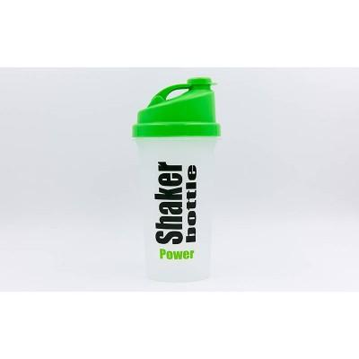Бутылка (бутылочка) шейкер спортивная для воды пластмассовая 700мл Zel (FI-5055)