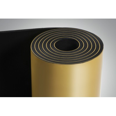 Вспененный каучук 50мм с липким слоем