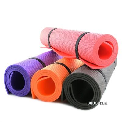 Коврик (каремат) для йоги, фитнеса и туризма Колибри Плюс Мини