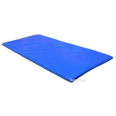 Чехол на спортивный мат из ПВХ ткани OSPORT 1м х 2м толщина 4см (FI-0096)