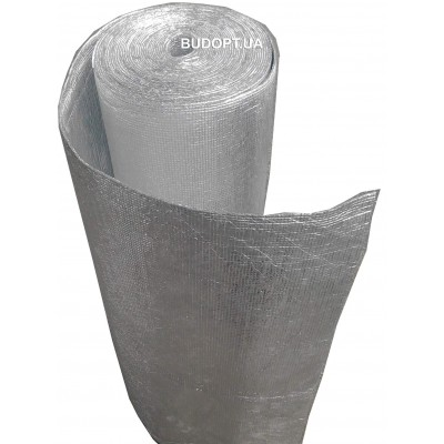 Химически сшитый пенополиэтилен фольгированный с двух сторон 8мм