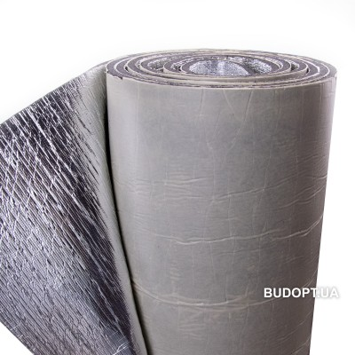 ISOLONTAPE 500 LA , 4мм (Изолон фольгированный самоклеющийся ППЭ 3004, изолонтейп)