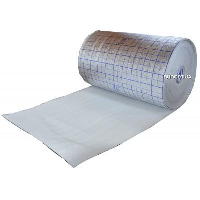 Вспененный полиэтилен с разметкой 4мм. (НПЭ+Лавсан+Разметка)