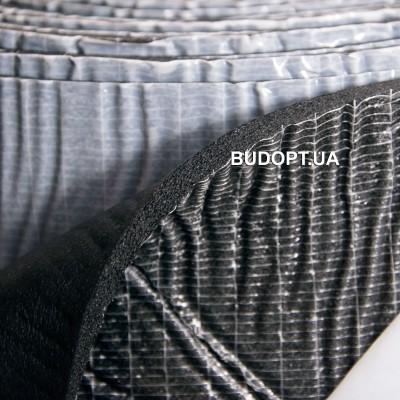 Шумоизоляция из вспененного каучука с липким слоем SoundProof Flex 6мм