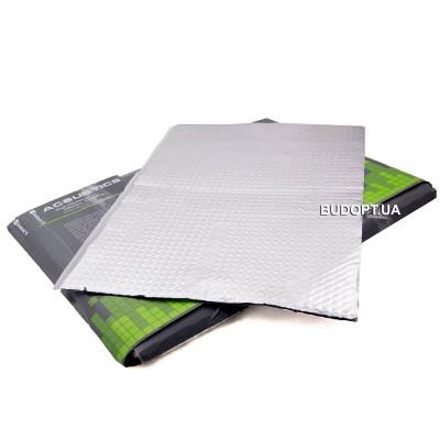 Виброизоляция Acoustics Alumat 370х500мм толщина 3 мм