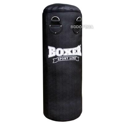 Детский боксерский мешок Boxer Элит 0.8м, кирза