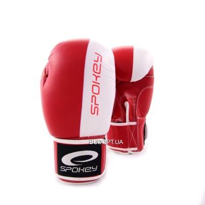 Перчатки боксерские Spokey Duke 10 унций (кожа)