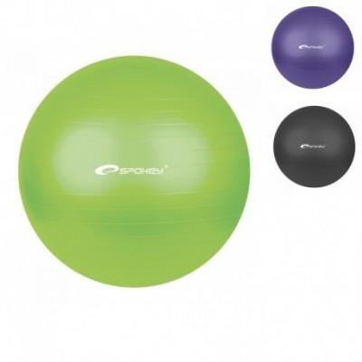 Гимнастический мяч для фитнеса, бобота (фитбол) Spokey 75см+насос