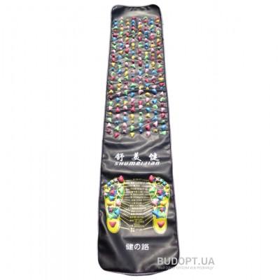 Массажный (ортопедический) коврик - дорожка для детей с камнями 180*35см