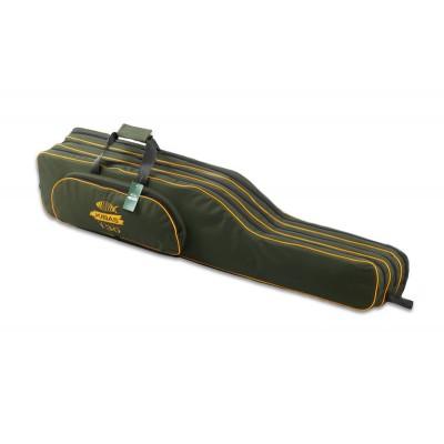 Чехол для спиннинга (удочек, удилищ) с катушкой трехсекционный Kibas Case 1303 Line
