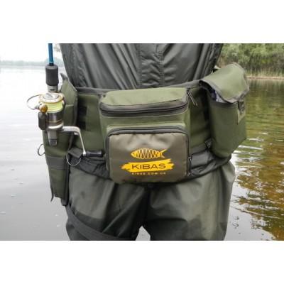 Поясная сумка для рыбалки (спиннингиста) Kibas Belt Profi Line
