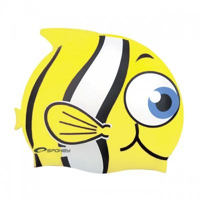 Шапочка для купания детская Spokey Rybka, желтая