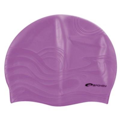 Шапочка для купания Spokey Shoal, фиолетовая