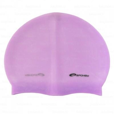 Шапочка для купания Spokey Summer, фиолетовая