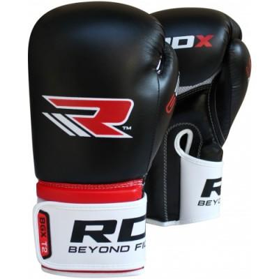 Боксерские перчатки RDX Rex Leather Black