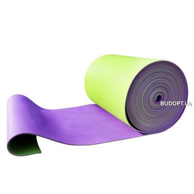 Коврик (каремат, матрас) для спорта и туризма на отрез цветной OSPORT 10мм (FI-0023)