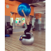 Фитбол (Мяч для фитнеса, гимнастический) глянец Profiball 85 см (MS 1578)