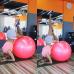 Детский мяч для фитнеса (фитбол) Profitball 55 см (глянец, в пакете)