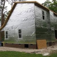 Теплый дом - утепление вспененным полиэтиленом (пенополиэтиленом)