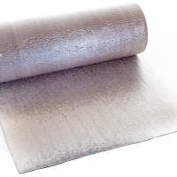 Вспененный полиэтилен фольгированный с двух сторон 8 мм (полотно фольгированное с двух сторон 8мм)