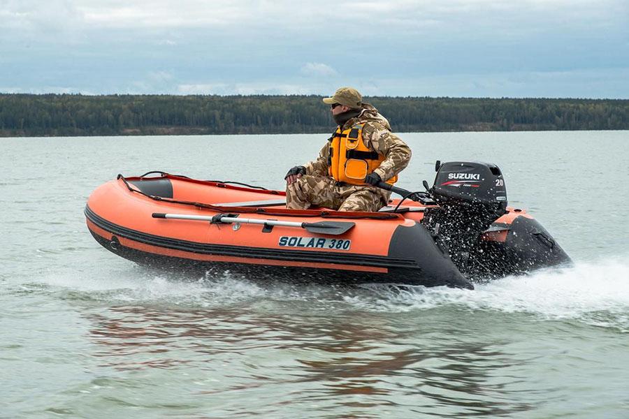 Надувная лодка ПВХ для рыбалки