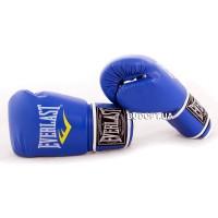 Боксерские перчатки PU на липучке Everlast BO-3987-R(8), 8OZ