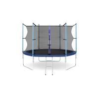 Батут с лестницей Hop-Sport 10FT (305 см) с внутренней сеткой