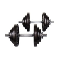 Гантели металлические Hop-Sport STRONG 2x20 кг
