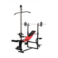 Скамья для тренировок с верхней тягой Hop-Sport HS-1070B