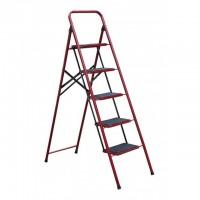 Лестница-стремянка Mastertool СЕМЬЯ 79-1035, 5 ступеней с ковриком