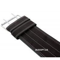 Пояс для пауэрлифтинга XXL (100-120 см), кожаный, 3 слоя Onhillsport