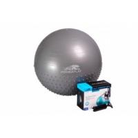 Мяч гимнастический - полумассажный PowerPlay 4003 65см + насос