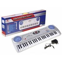 Детский синтезатор RoyalToys SD 5490 с микрофоном
