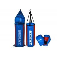 Детский набор для бокса SENAT (мешок и перчатки боксерские)
