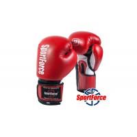 Перчатки для бокса SportForce на манжете-липучке SF-BG02